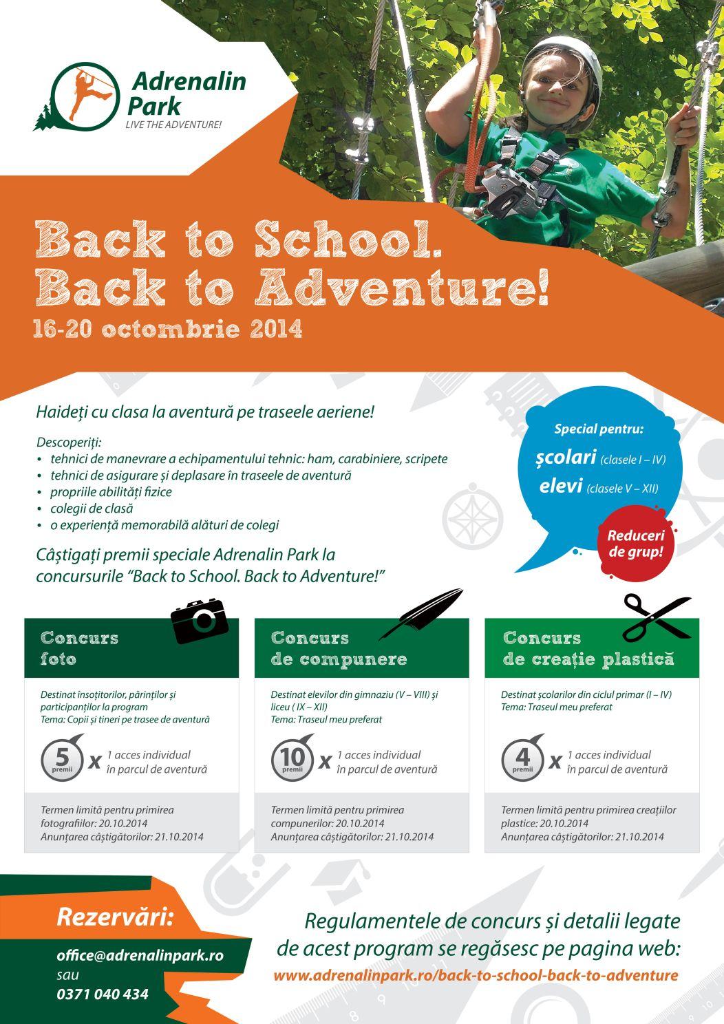 Adrenalin Park activitati par aventura Back-to-school-Back-to-Adventure