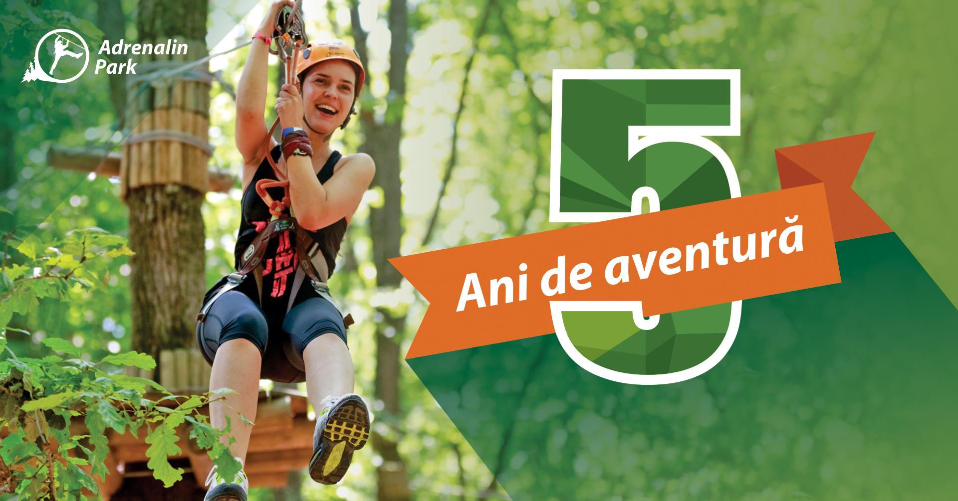 5 ani de Adrenalin Park